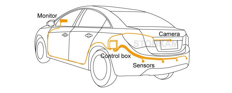 vehicle ultrasonic radar